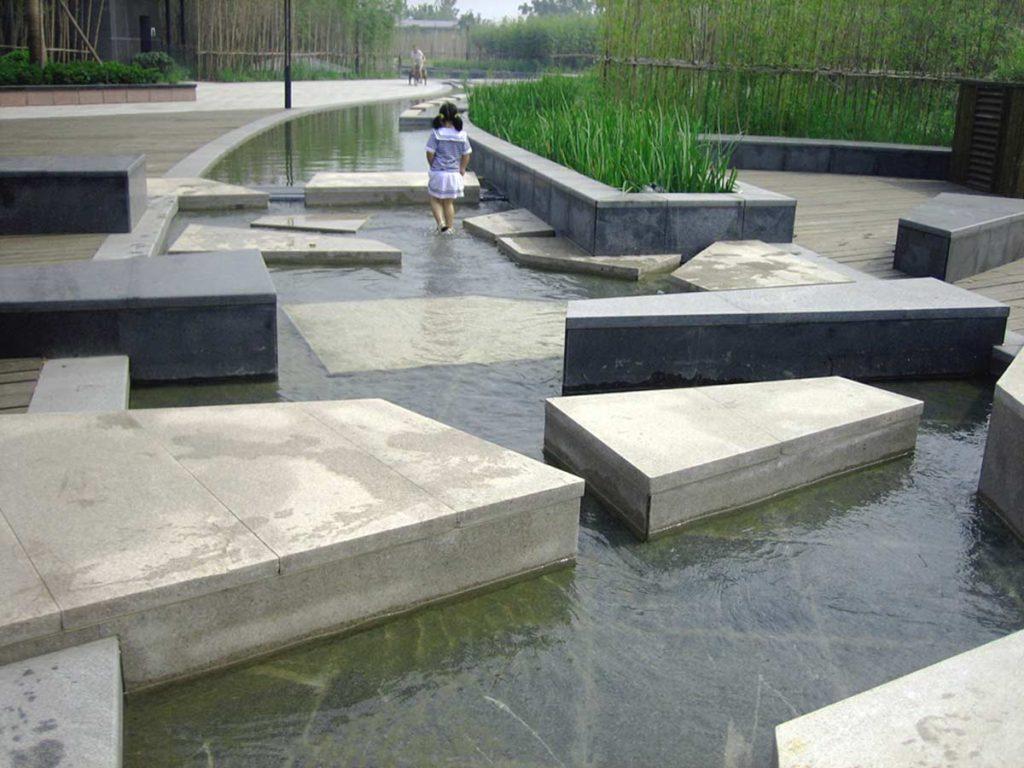 Hangzhou Qianjiang New City CBD Foreshore Park