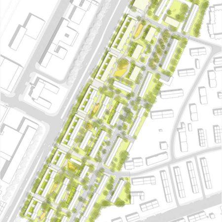 urbanegestalt_duesseldorf_gruenau_lageplan