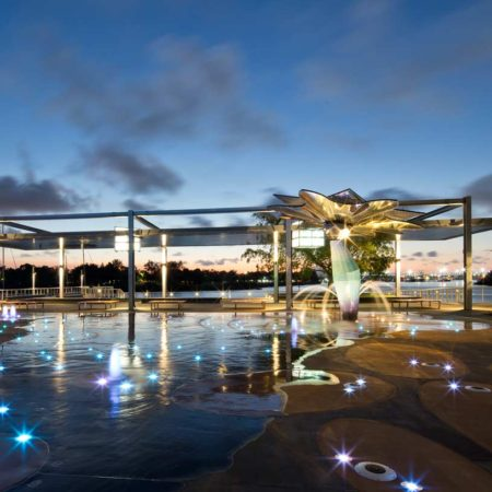 07.-Gladstone-East-Shores---dusk-water-play---Angus-Martin