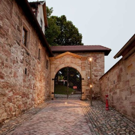 Illumination-and-paving-at-the-castle-gate