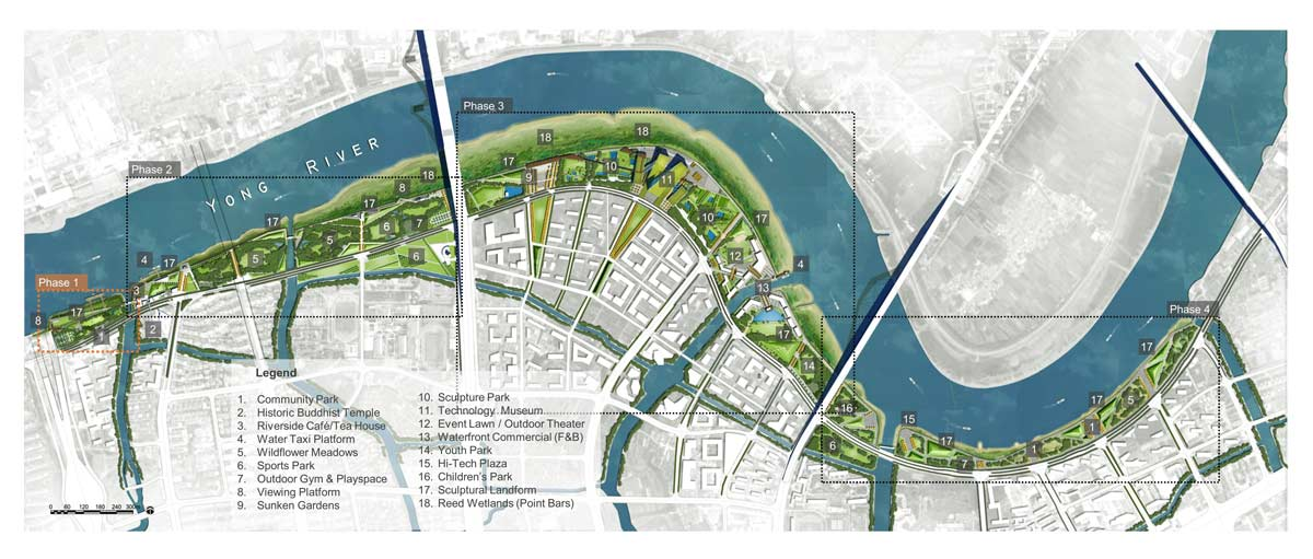 Yong River Park Phase 1 A Community Platform Landezine International Landscape Award Lila