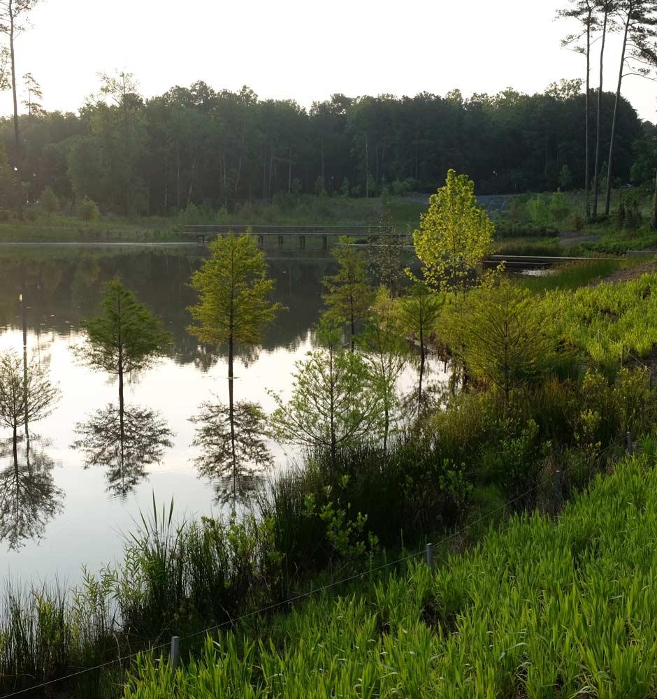 Duke Water Reclamation Pond « Landezine International