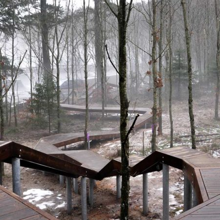VEGA_Skoerping-School_08_path-to-treetop-house
