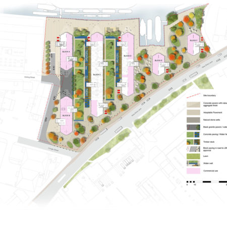 Site-plan-showing-landscaping_with-key