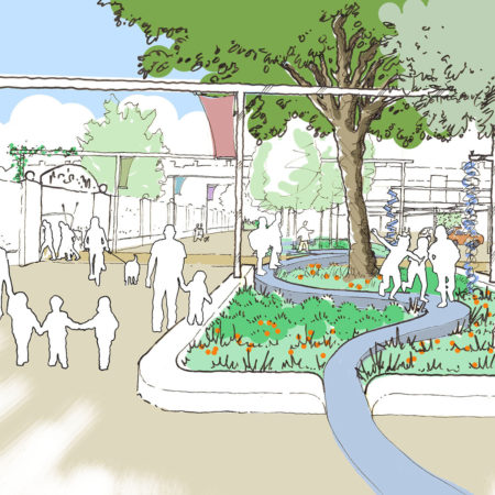 13-RBA-Bridget-Joyce-Square,-Australia-Road-early-Concept-sketch
