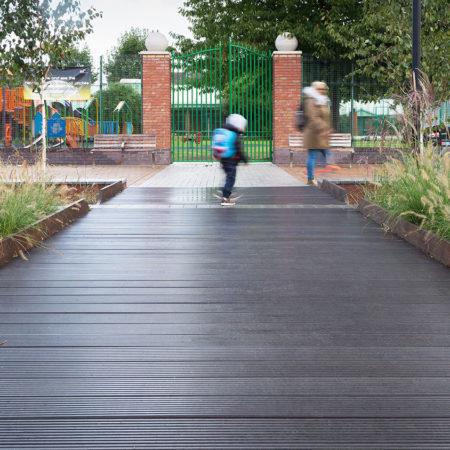 35-RBA-Bridget-Joyce-Square,-Australia-Road-new-playground-gateway