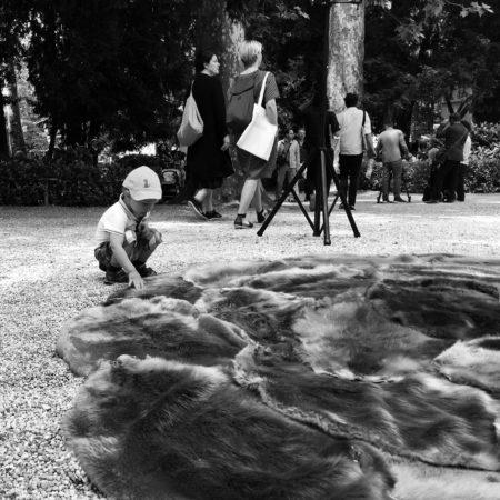 EX-(11)-Child-sensing-Fur-Pelt-Cover-of-Exhibition