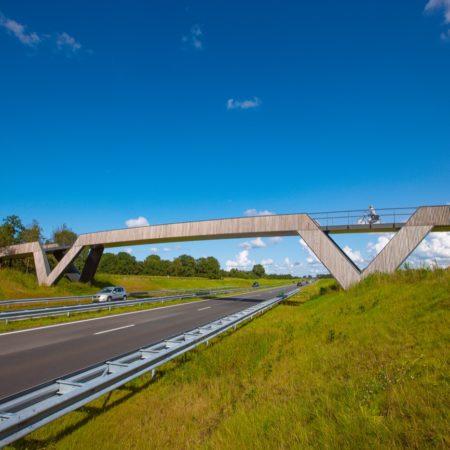 05 Mobilis bouwfotografie Pedestrian bicycle bridge