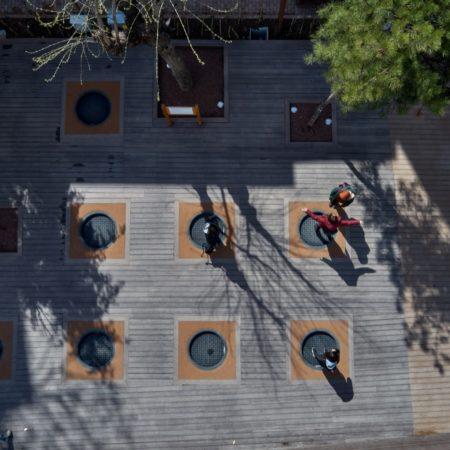 21-HAMAMYOLU URBAN DECK-trampolines top view