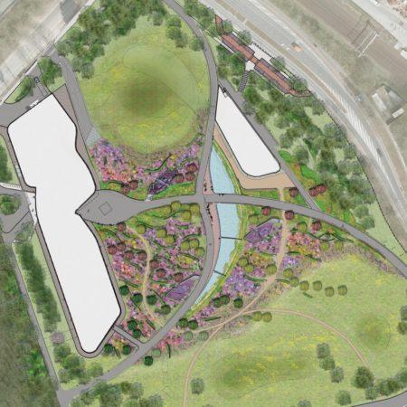 I:Projecten1003 Groningen IBGdwgBaljonDOplattegronden1003 DO landschapsplan 19-01-2011 PSD ondergrond A1-lig 1 op 500 (1