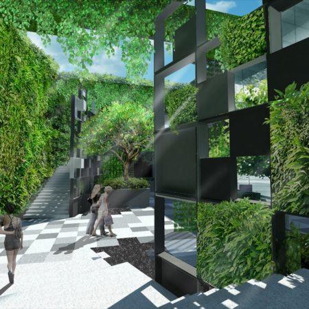Render - Sunken Plaza 1