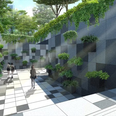 Render - Sunken Plaza 2