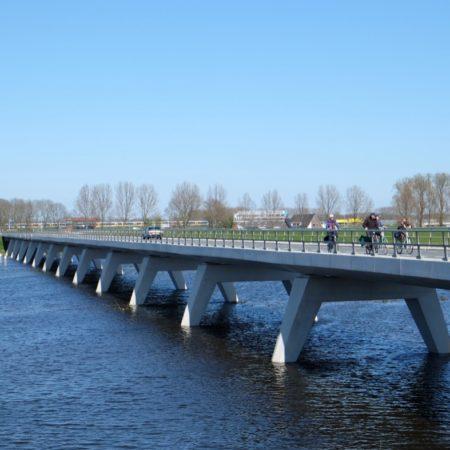 The Nieuwendijk Bridge - photo H+N+S