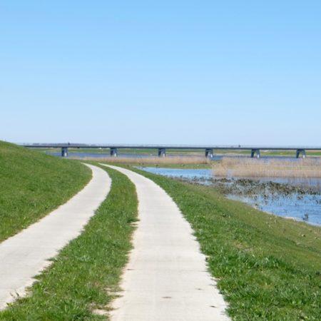 Towards the Nieuwendijk bridge - photo H+N+S