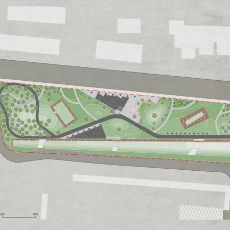 W:87_BWSP (北虹桥滨江体育公园一期_Beihongqiao Waterfront Sports Park P1)7_ITEM71_Publication5_CAD & Model2_CAD201505