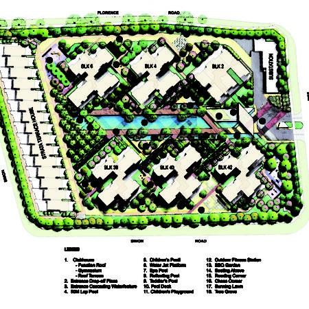 XX-A. Kovan Regency - Site Plan