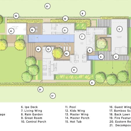 XX-Bellaire Residence-Site Plan
