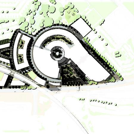 XX-Television Centre Site Plan ∏Gillespies