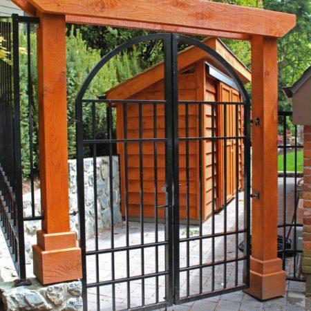 West Coast Party gate