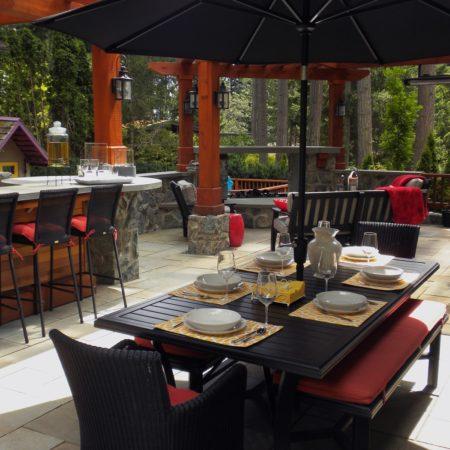 West Coast Party table sets