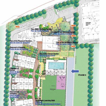 XX-1 Lycée Francais de Singapour - Site Plan