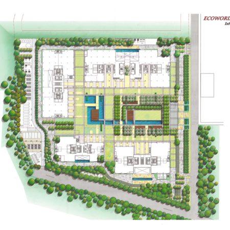 XX-RMZ Ecoworld - Site Plan