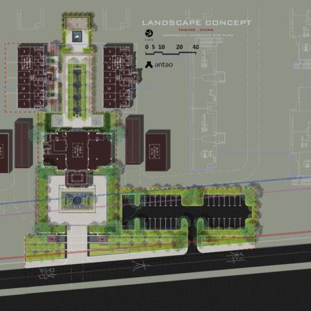 XX-site plan