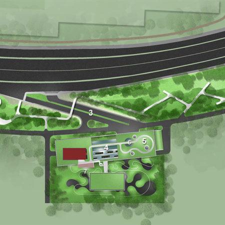 Project1-_Xian_Site-plan