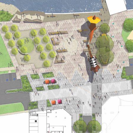 XX Mindeerup Plaza Site Plan
