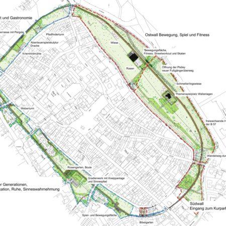 J:�3 ProjekteXanten Park der Begegnung XAN-16-15�8PlanunterlagenIntern�5Ausführung1706014_Ausführungsplanung 1.1 Gesamtpl