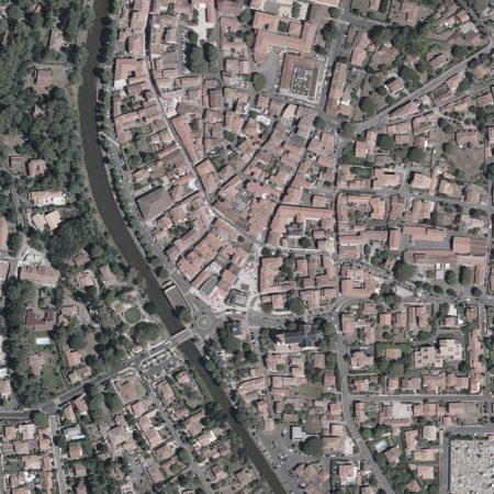02 Google_Capbreton_Satellite view_zoom BEFORE project