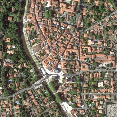 03 Capbreton_Satellite view_zoom AFTER project