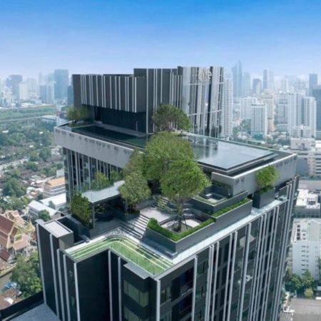 Rooftop garden – The Sky Park Photo credit : AP-Thai development