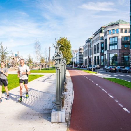 © AG VESPA, Frederik Beyens / Sportspeople can now remain on the paths laid out without worrying about disturbance from cyclists.