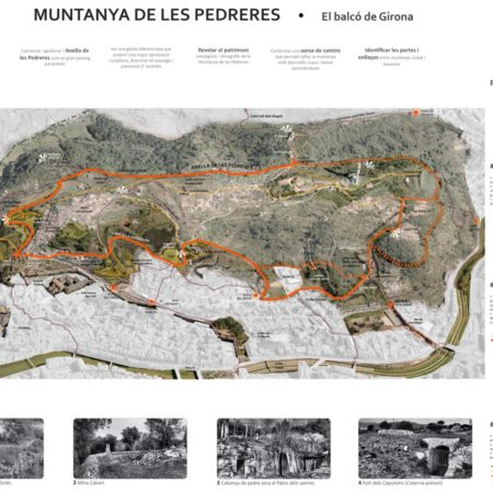 14 Pederes Mountain loop plan