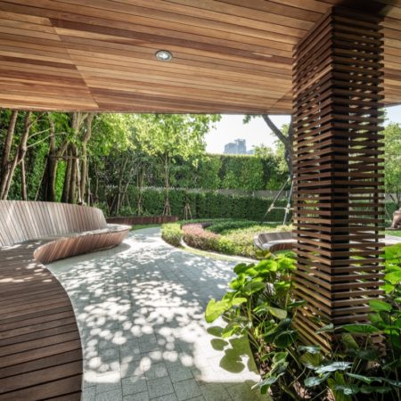 Continued space under the tree house