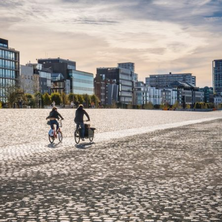 © AG VESPA, Frederik Beyens / The vast submersible river side will become the city's best place to get a breath of fresh air.