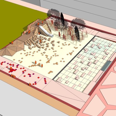 163_PLAYGROUND AND FOUNTAIN_ global 3D