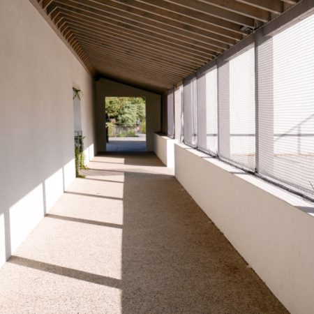 26 The Fronton rehabilitated into the patio