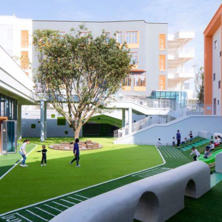 5.Kindergarten activity area