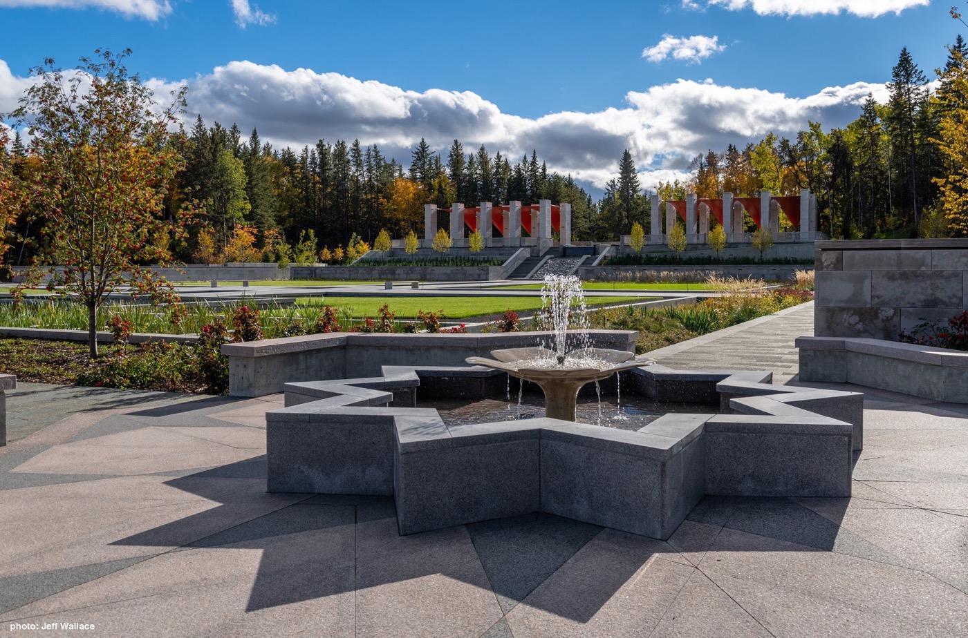 The Aga Khan Garden, Alberta « Landezine International ...