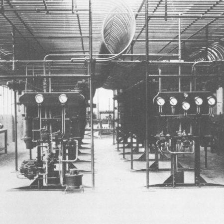 The old baleine machine