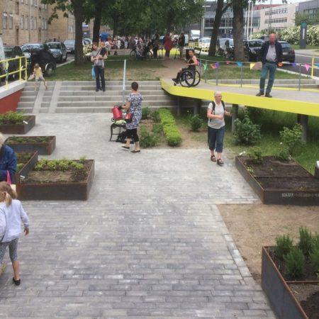 Urban garden basin
