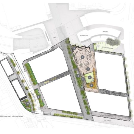 X Darling Square Plan with Key