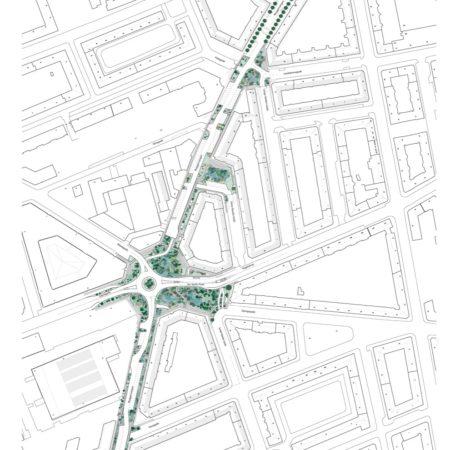 X Sankt Kjelds Square and Bryggervangen_Site Plan_SLA