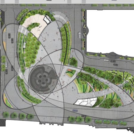 Z Hudson Yards Plaza (Site Plan)