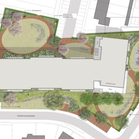 Z Op Houten garden site plan