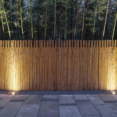 10 usage of old slate and bamboo fence materials ©Jianzhi-Arch Photography