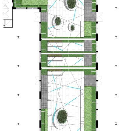 200 5th_Courtyard Plan