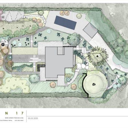 ZZ Marin County Modern Site Plan